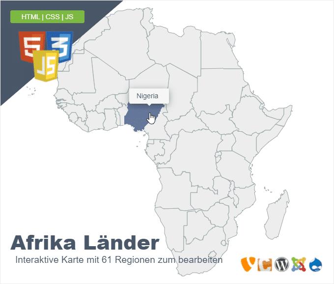 Afrika Länder