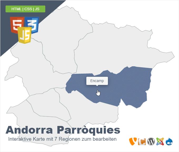 Andorra Parròquies