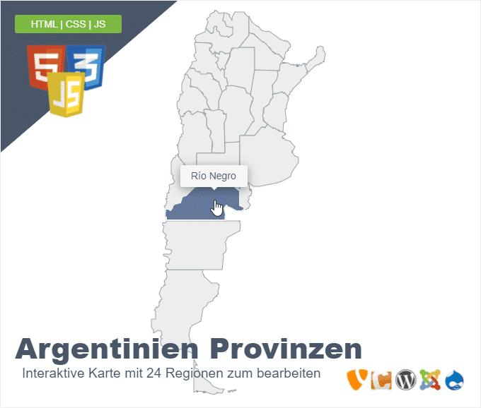 Argentinien Provinzen