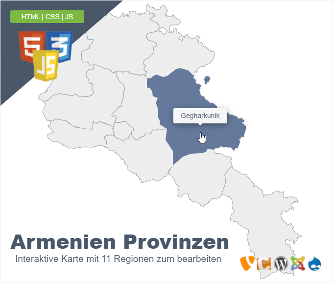 Armenien Provinzen
