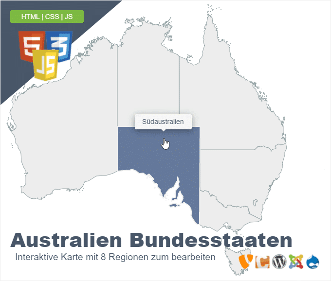 Australien Bundesstaaten
