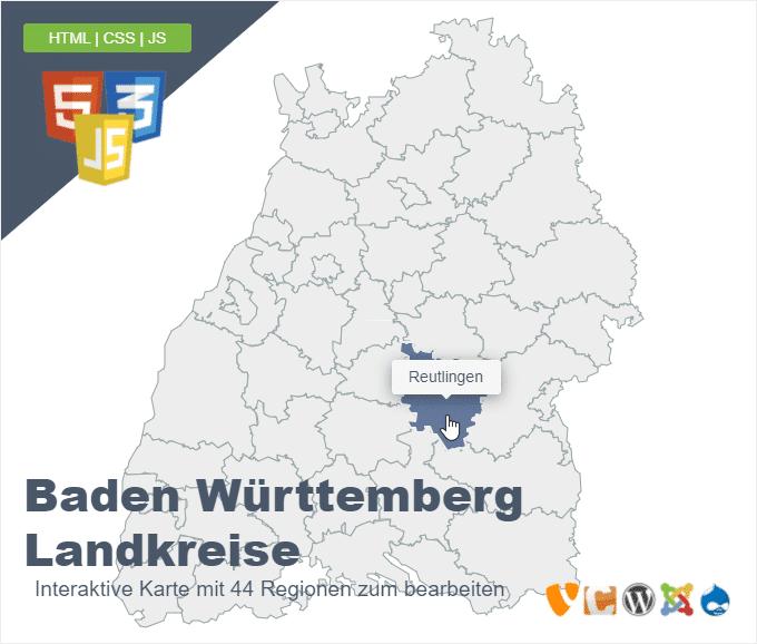 Baden Württemberg Landkreise