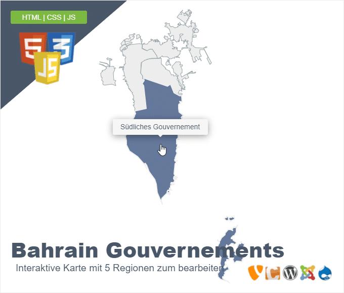 Bahrain Gouvernements