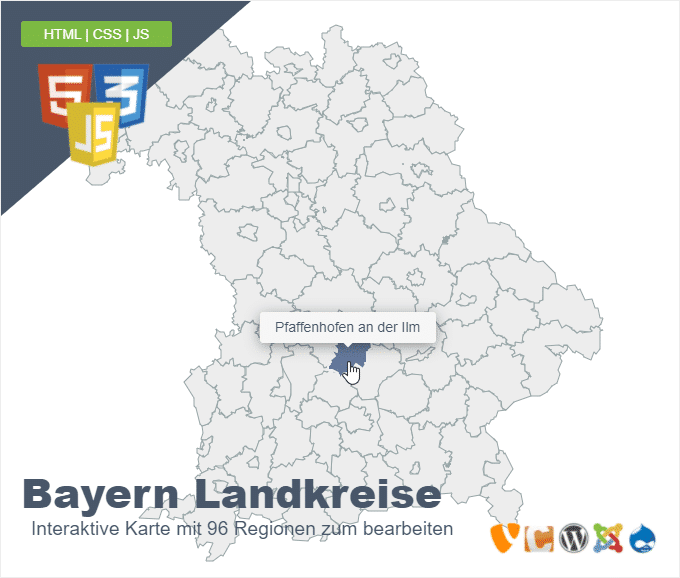 Bayern Landkreise