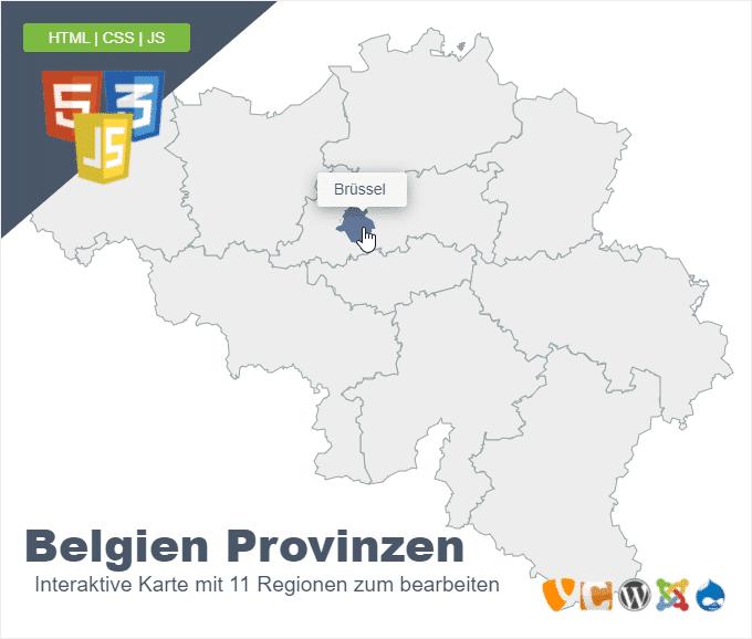 Belgien Provinzen
