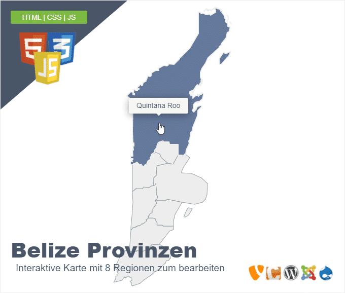 Belize Provinzen