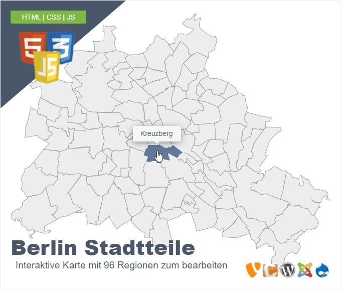 Berlin Stadtteile