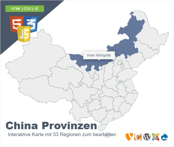 China Provinzen