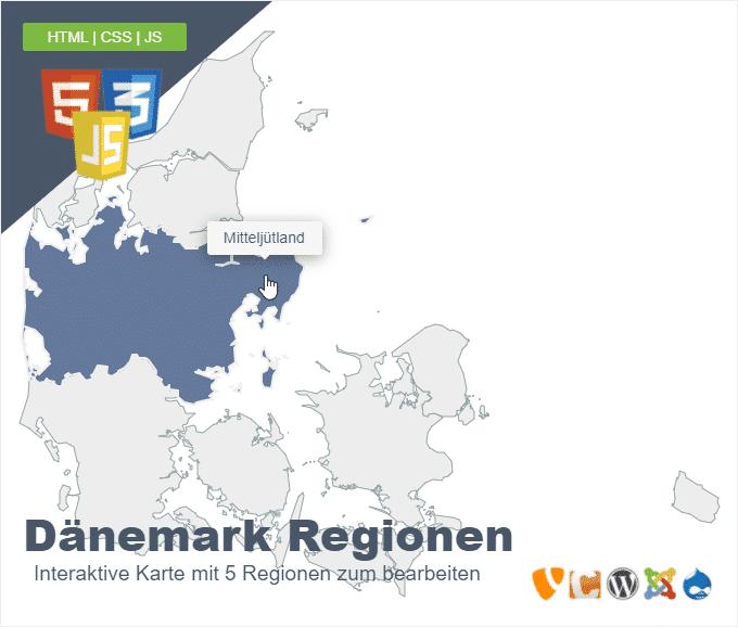 Dänemark Regionen