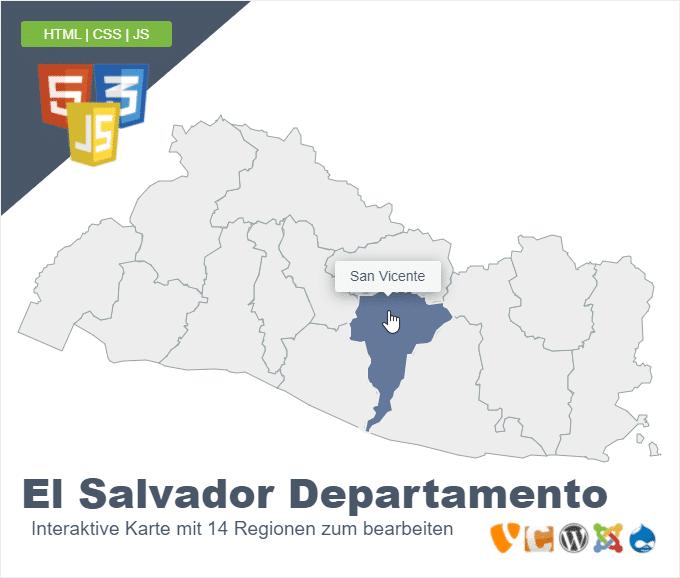 El Salvador Departamento
