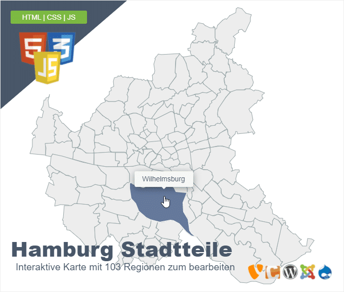 Hamburg Stadtteile