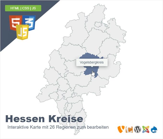 Hessen Kreise