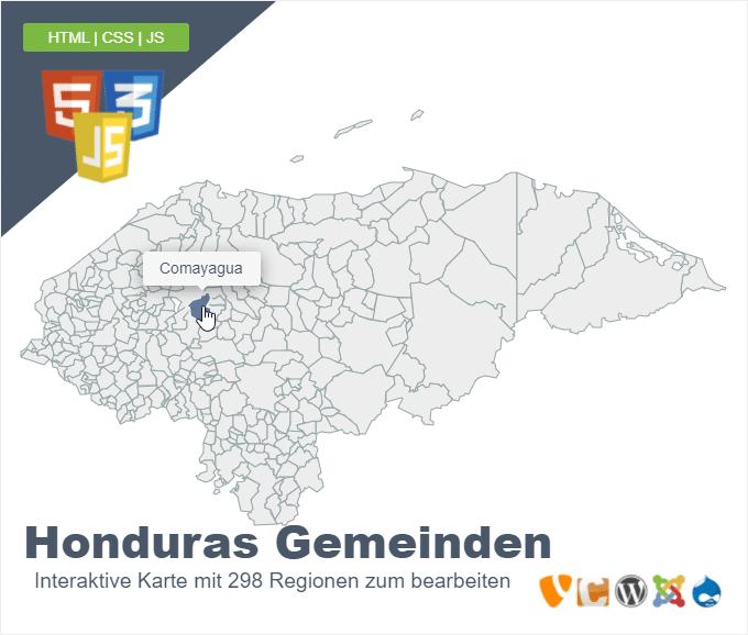 Honduras Gemeinden