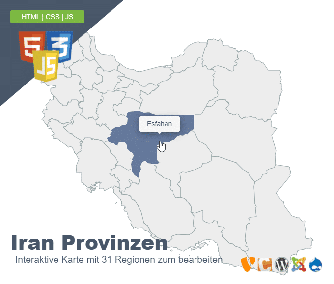 Iran Provinzen