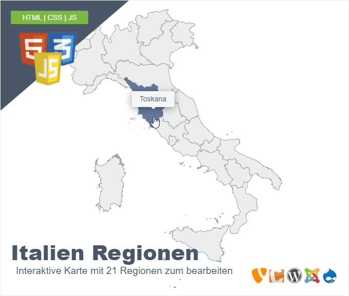 Italien Regionen