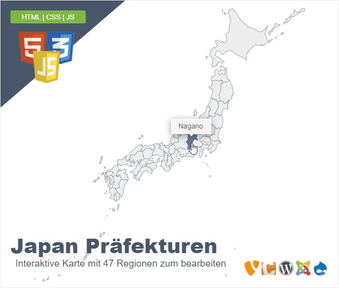 Japan Präfekturen