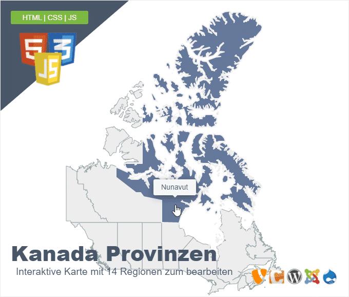 Kanada Provinzen
