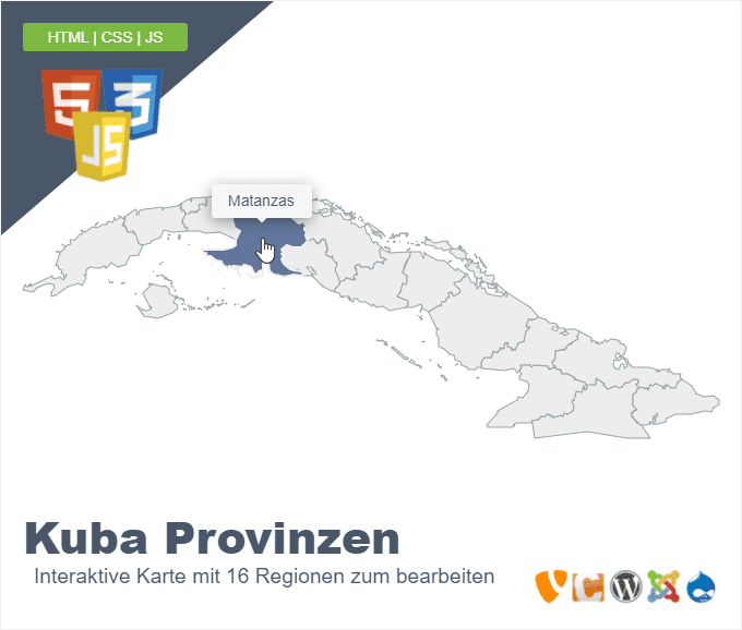 Kuba Provinzen