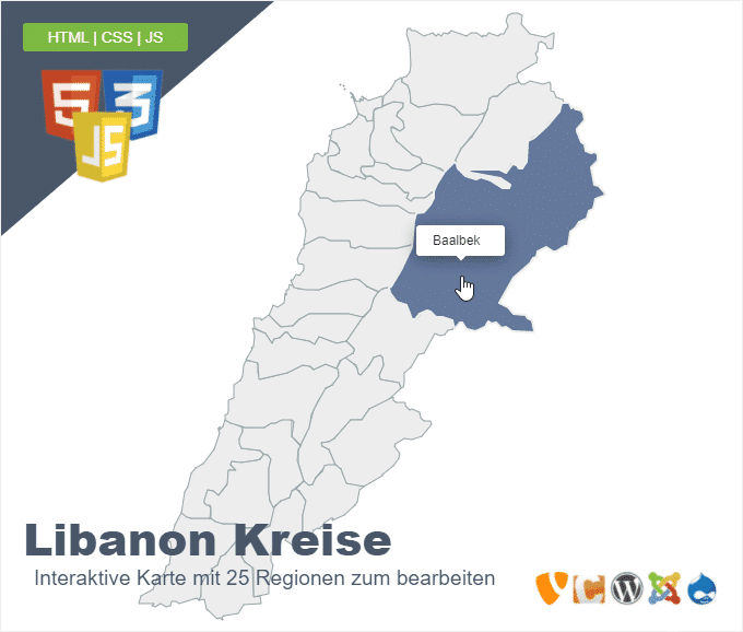 Libanon Kreise