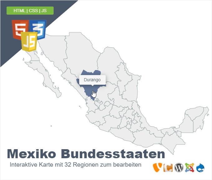 Mexiko Bundesstaaten