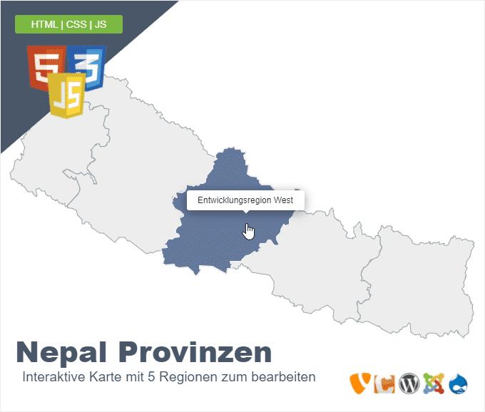 Nepal Provinzen