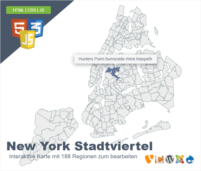 New York City Stadtviertel