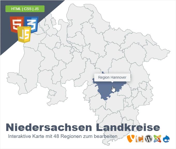 Niedersachsen Landkreise