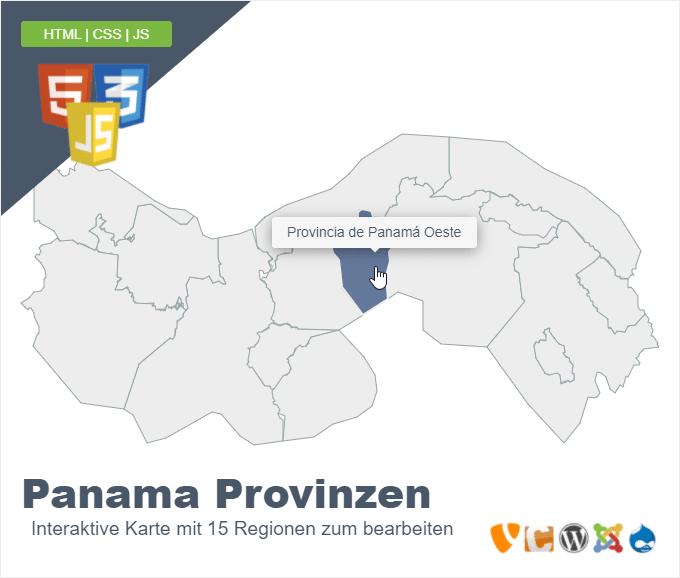 Panama Provinzen