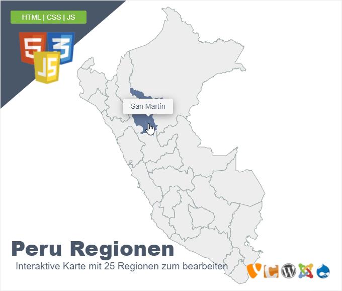 Peru Regionen