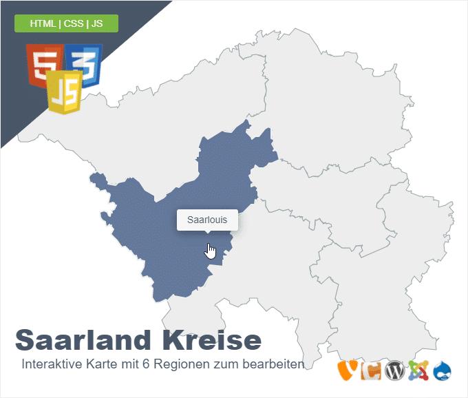 Saarland Kreise