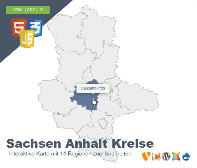 Sachsen Anhalt Kreise