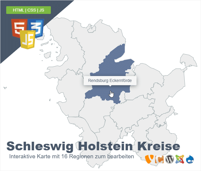 Schleswig Holstein Kreise