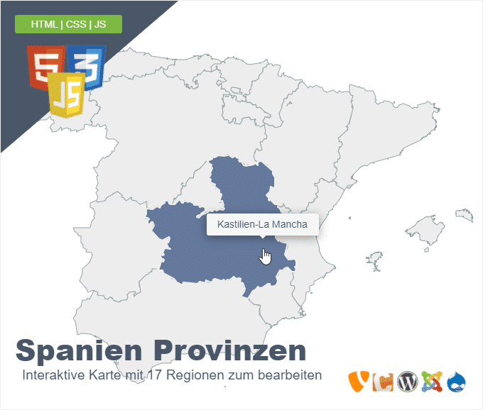 Spanien Provinzen