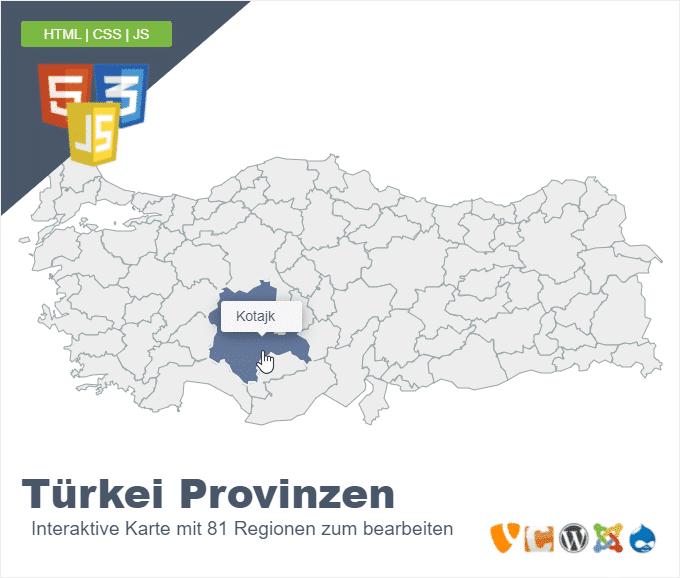 Türkei Provinzen