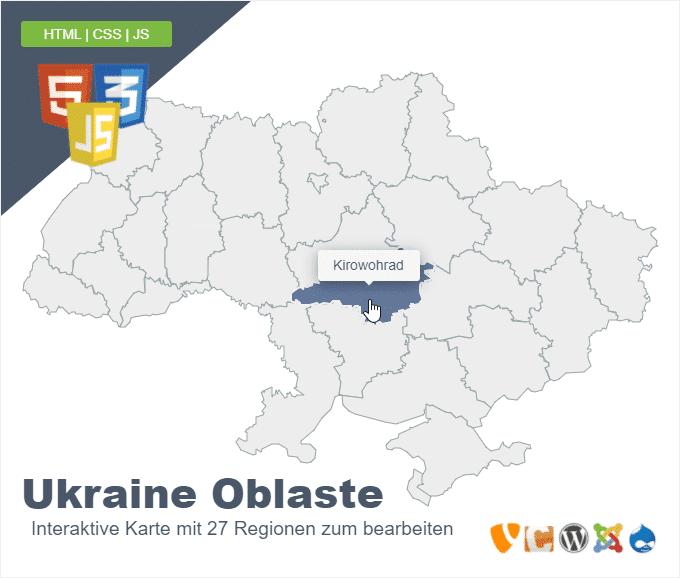 Ukraine Oblaste