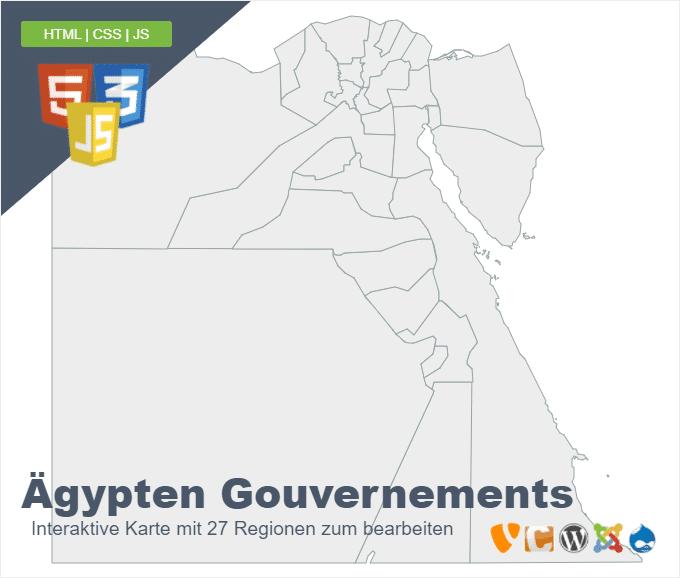 Ägypten Gouvernements