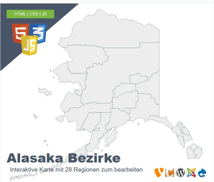 Alasaka Bezirke
