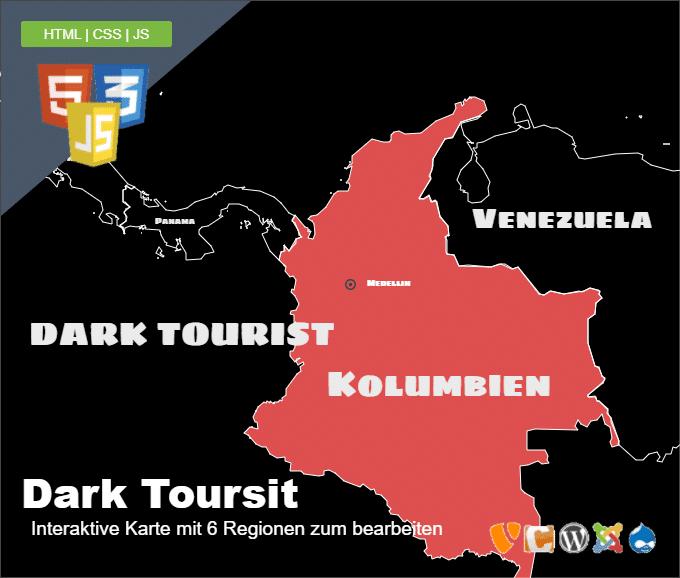 Dark Tourist Landkarte