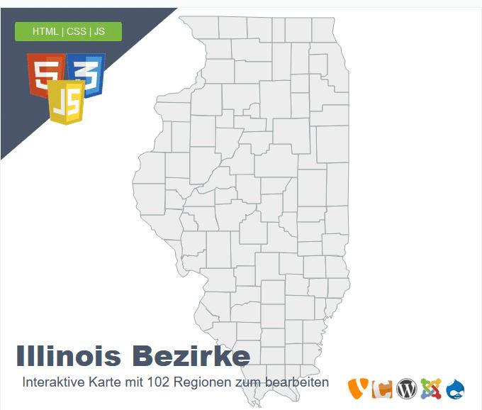 Illinois Bezirke