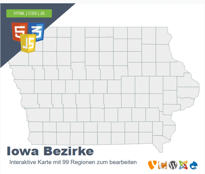 Iowa Bezirke