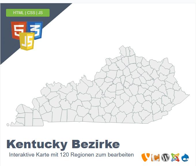Kentucky Bezirke