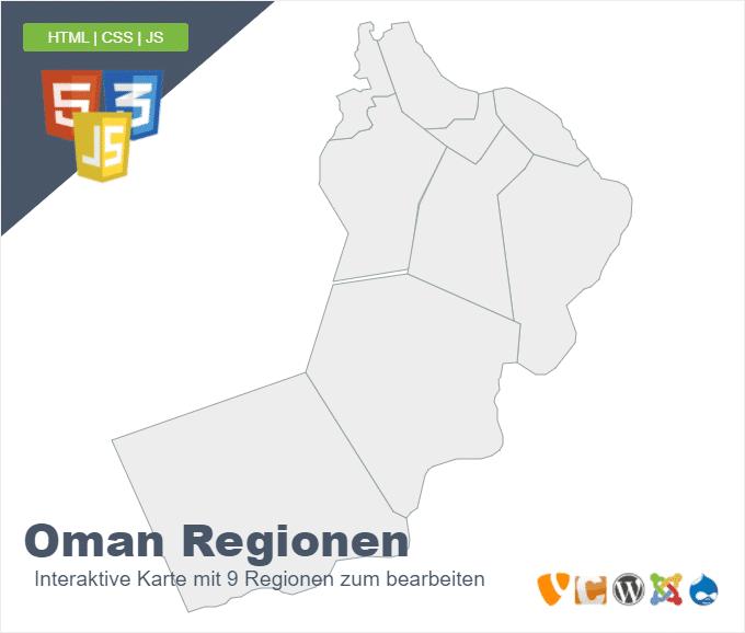 Oman Regionen