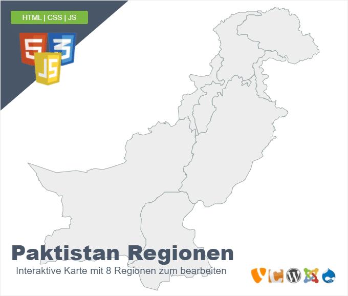 Paktistan Regionen