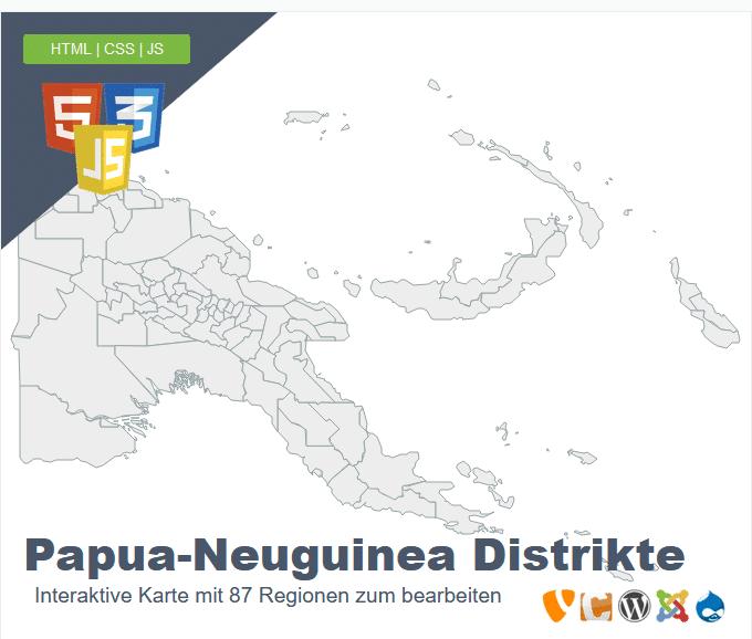 Papua-Neuguinea Distrikte