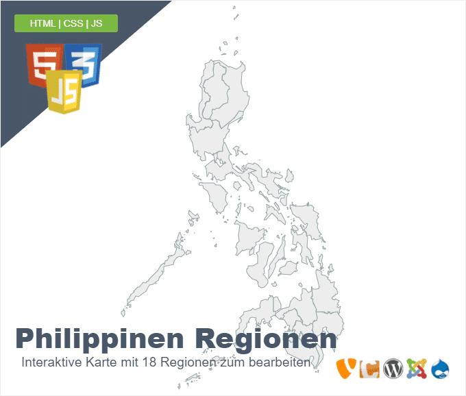 Philippinen Regionen