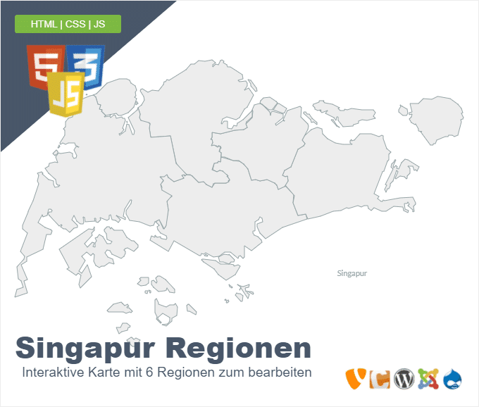 Singapur Regionen