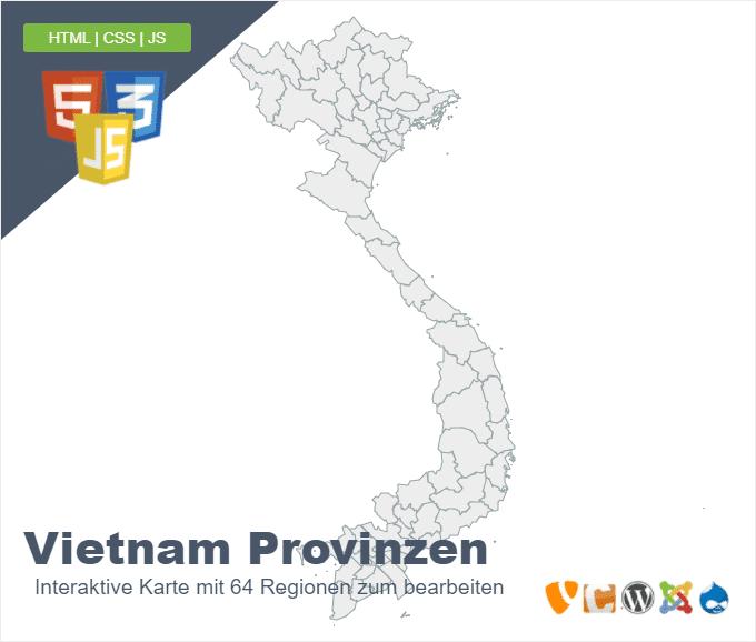 Vietnam Provinzen