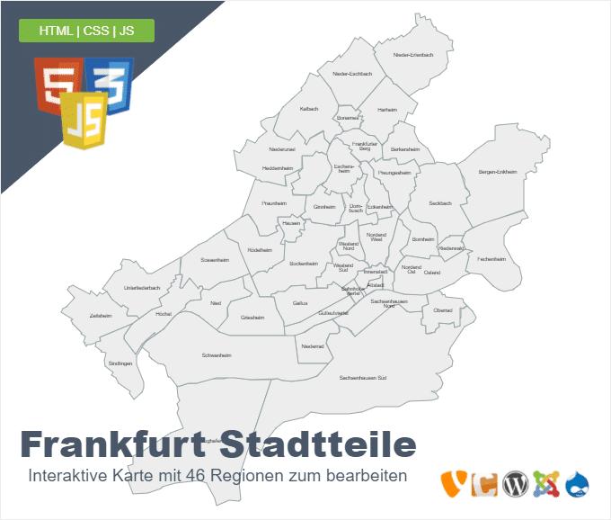 Frankfurt Stadtteile