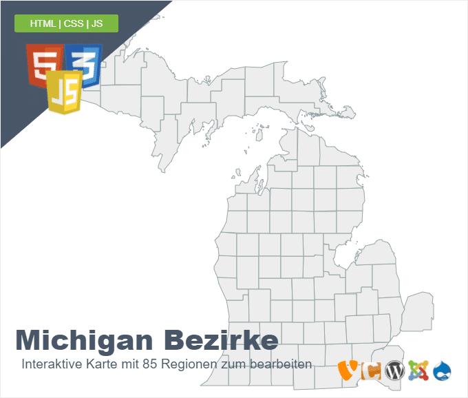 Michigan Bezirke