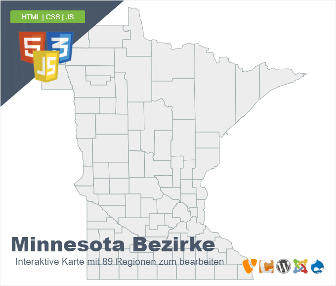 Minnesota Bezirke